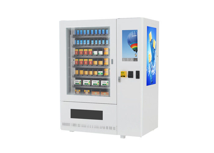 Campus Health Wellness Medical Supply Vending Machine Kiosk With Large Advertising Screen